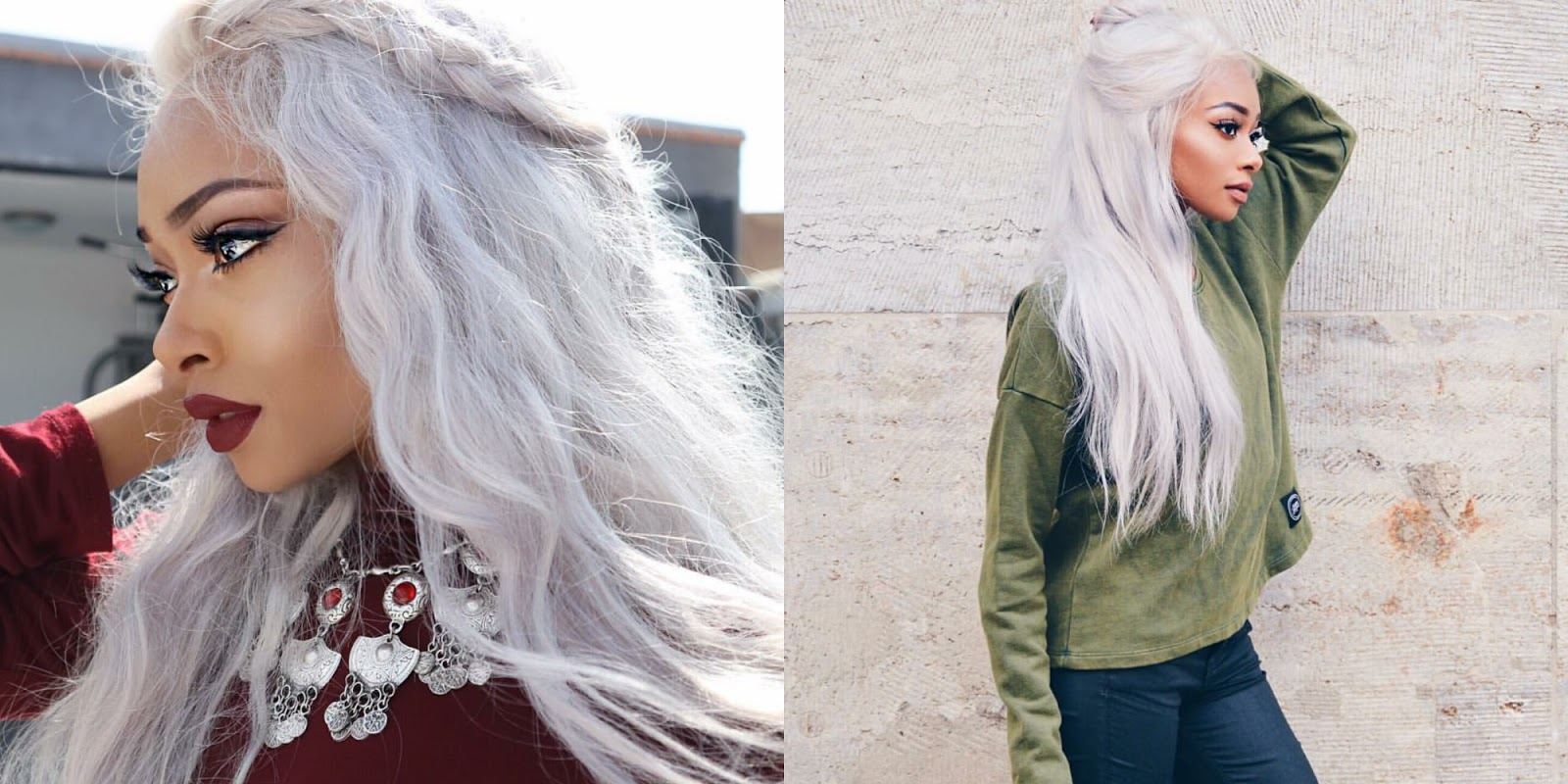 Gray Hair Envy How To Get Gray Hair Under Rm80 20