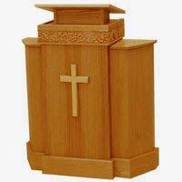 mimbar untuk gereja