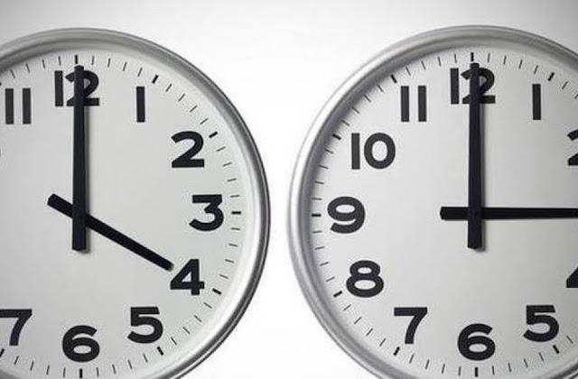 Ξημερώματα Κυριακής γυρίζουμε μια ώρα πίσω τα ρολόγια μας