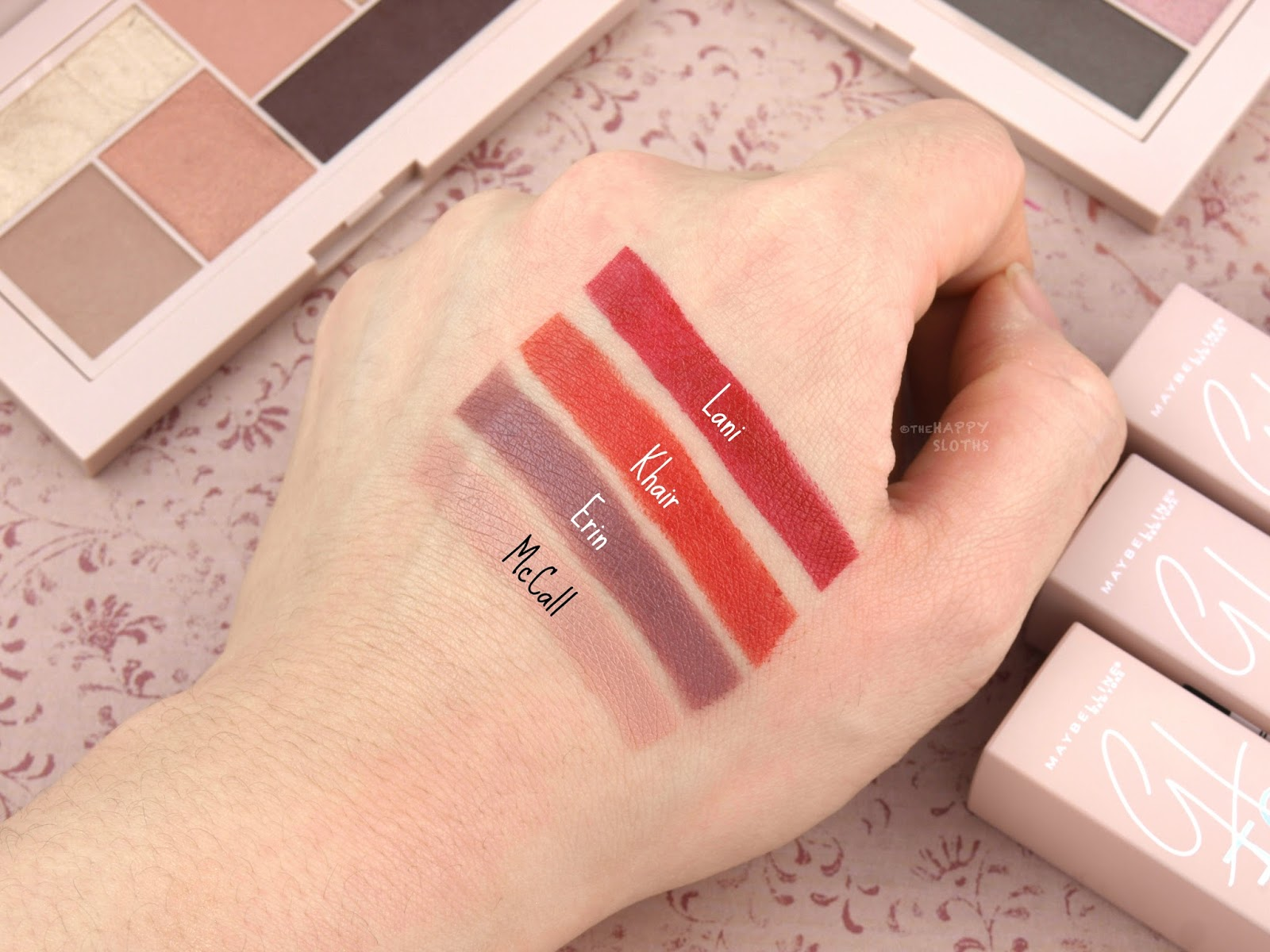 Maybelline x Gigi Hadid Lipstick: Review and Swatches
