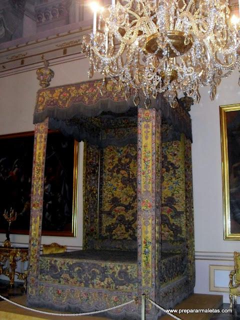 interior del palacio de la granja