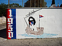 Hajduk Torcida grafiti Selca otok Brač slike