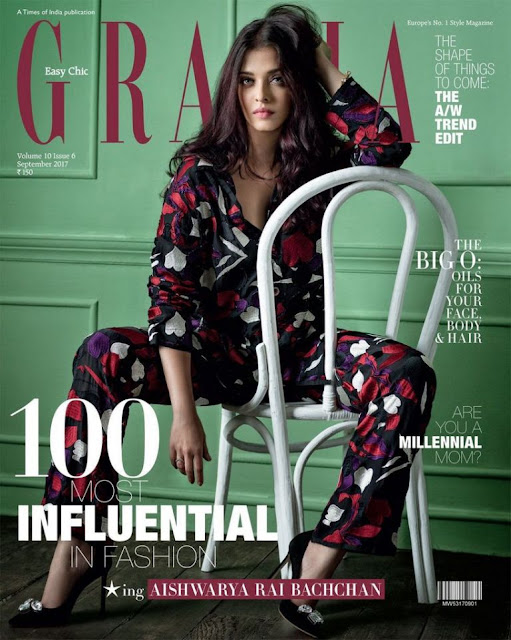 Aishwarya Rai Latest Photoshoot - Grazia India - Sep 2017