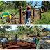 JAYAPURA: Satgas Yonif MR 413 Bantu Masyarakat Perbatasan RI - PNG Bangun Pagar Masjid