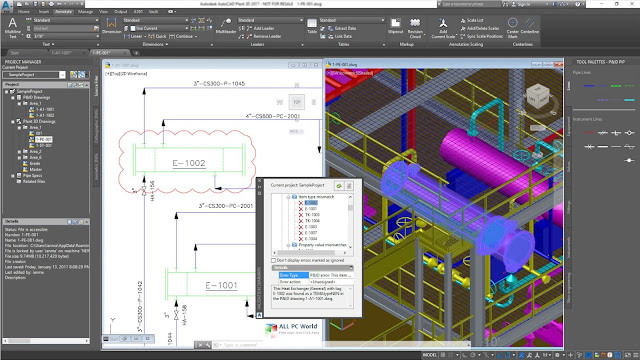 AutoCAD Plant 3D 2019 Free Download Full Version