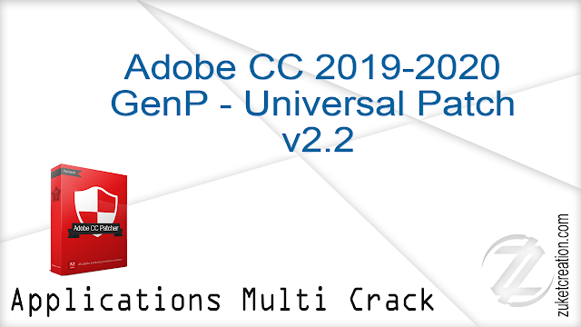 Adobe CC 2019-2020 GenP – Universal Patch v2.2