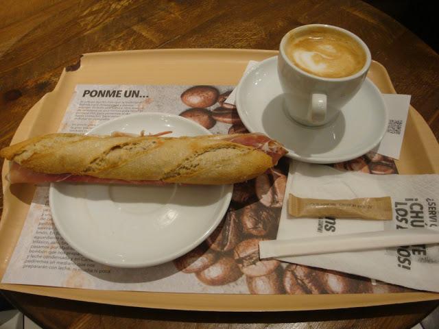 O que e onde comer em Barcelona - Pans & Company