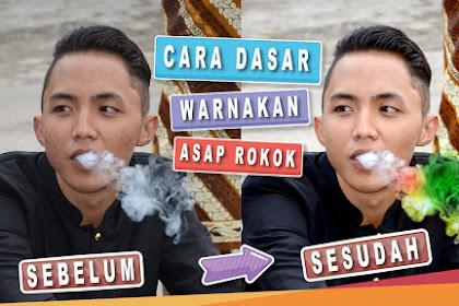 Cara Mewarnai Asap Rokok di Photoshop Terlihat Alami