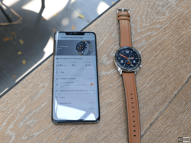 Smart Signature offers the Huawei Mate 20 Pro with a FREE Watch GT!