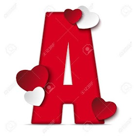 Valentine Day special DP all alphabet