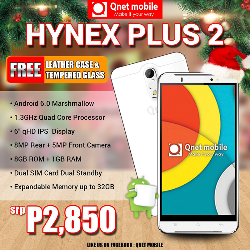 Qnet Mobile Hynex Plus 2