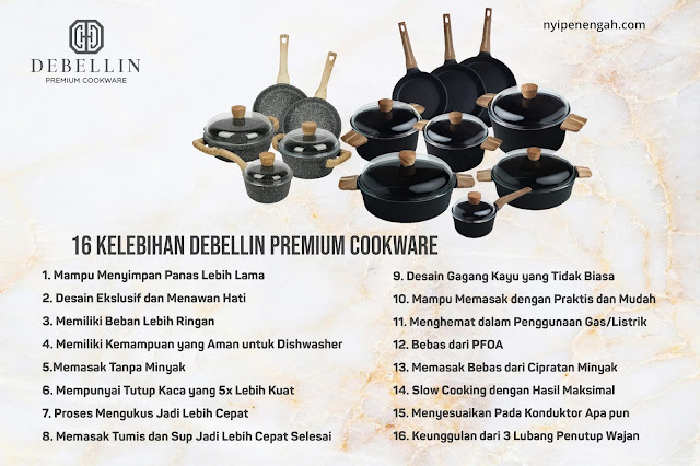 debellin cookware review harga debellin premium cookware debellin premium cookware blibli debellin vs stein debellin grill pan granite cookware