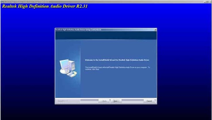Realtek Audio Driver for Windows Vista/7/8/10