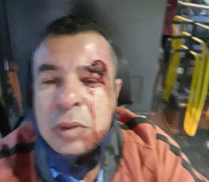 Usuários agridem e ameaçam motoristas de ônibus que cobram uso de máscaras na Grande BH; veja relatos