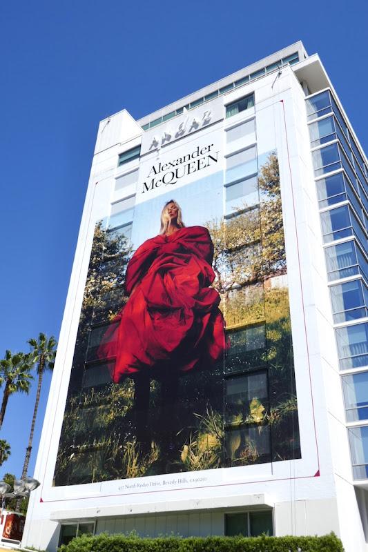 Giant Alexander McQueen FW19 billboard