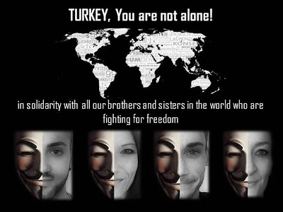 Turkish Government websites hacked by Anonymous, declares #OpTurkey