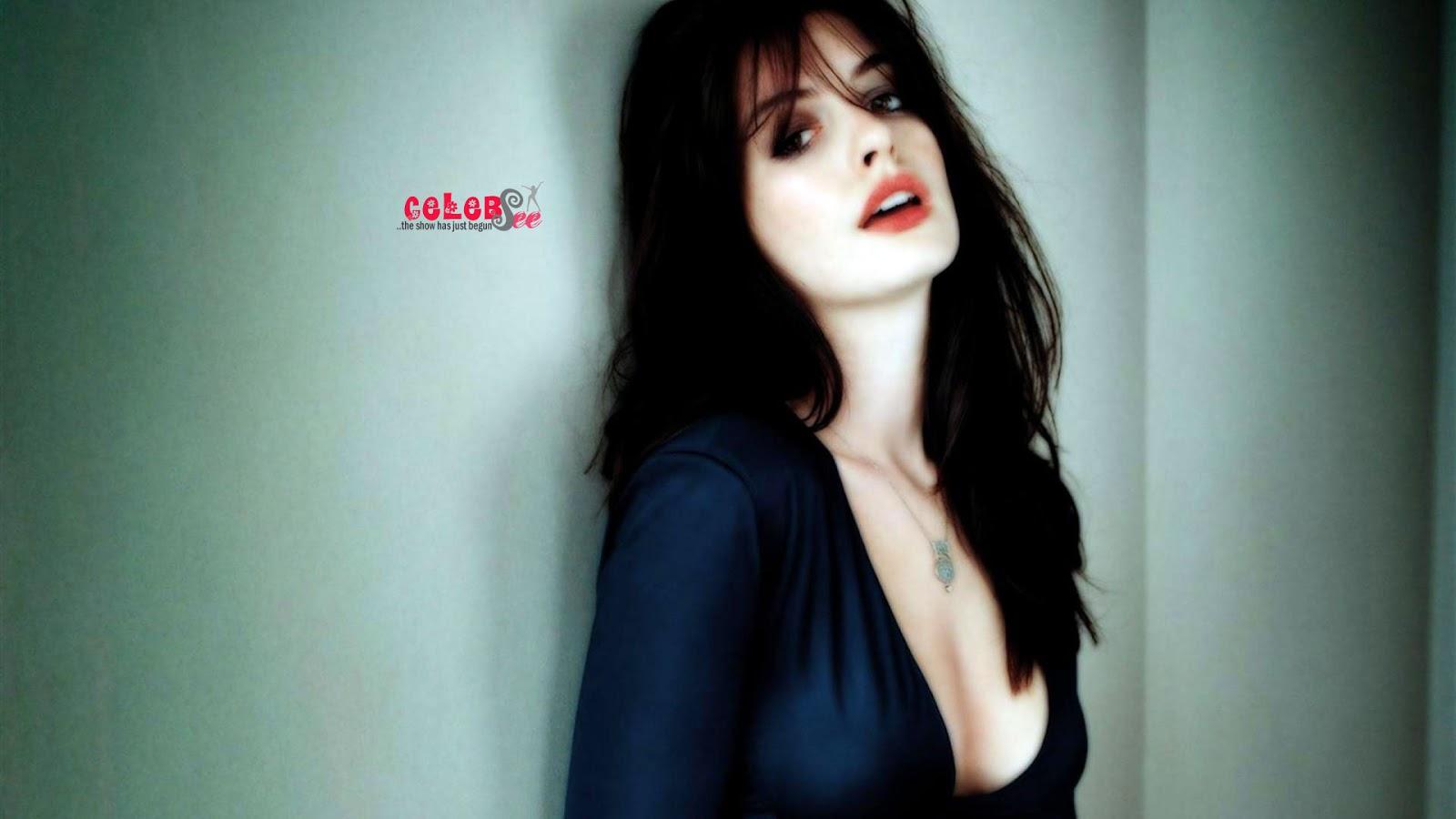 Cute Stylish Girl Wallpaper Hd Anne Hathaway Hot Hd Photos Hollywood Celebsee