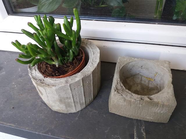doniczki z betonu jak zrobić