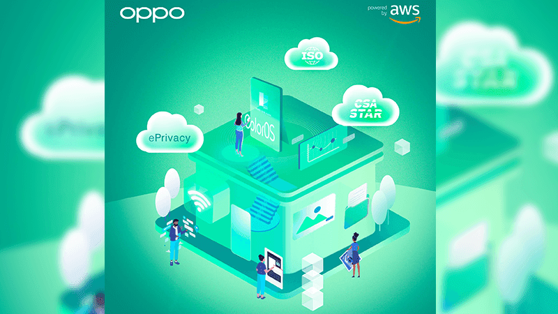 OPPO partners with Amazon Web Services to enhance mobile experience security