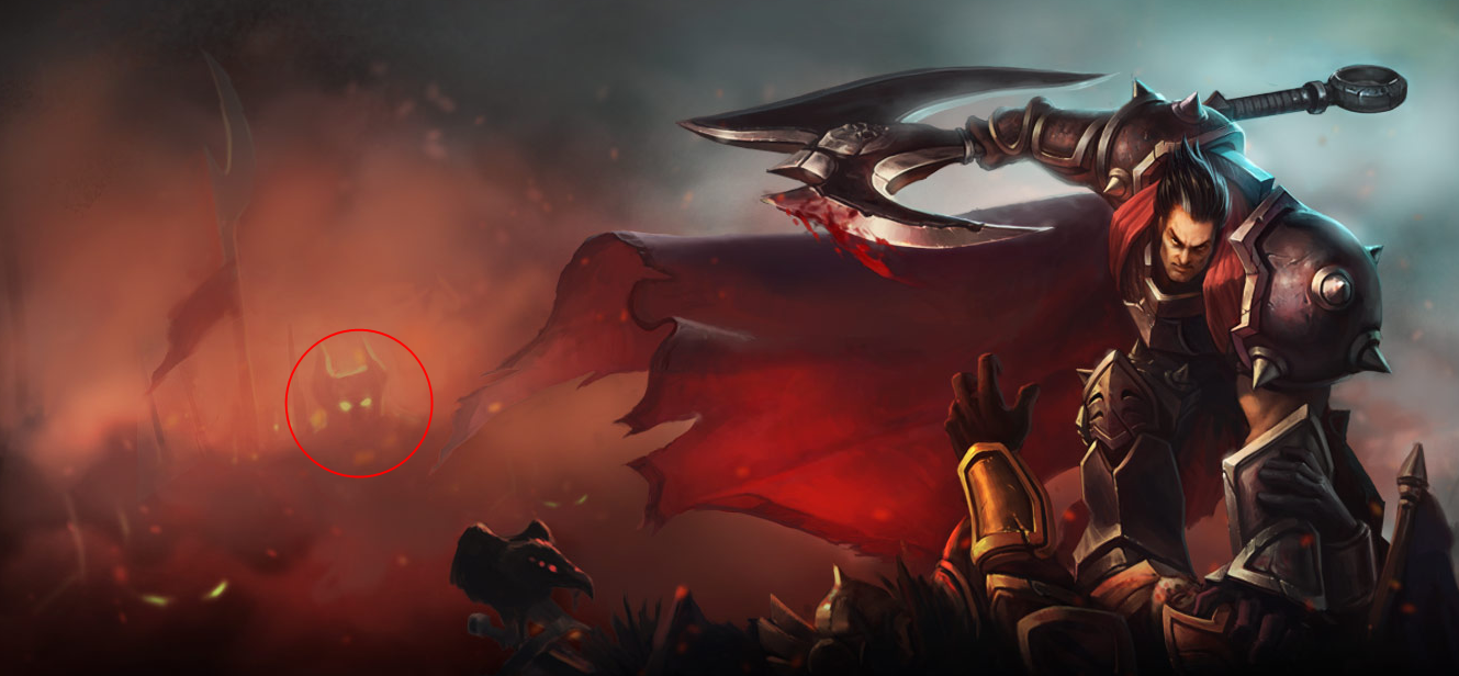 That and there are multiple references to him that Ezreal discovered within  Noxus that portray him in a positive light. He's even engraved within the  stone ...