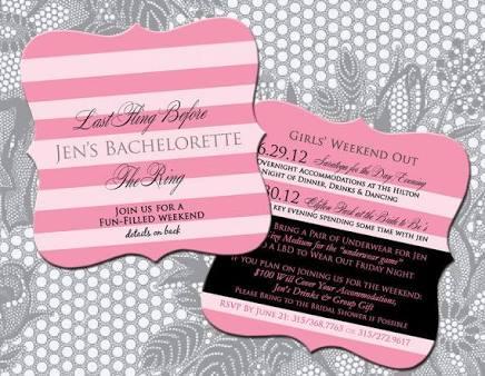 Stunning Bridal Shower Invitation Ideas