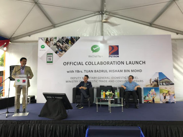 WeChat Pay collaborates with Petron Malaysia