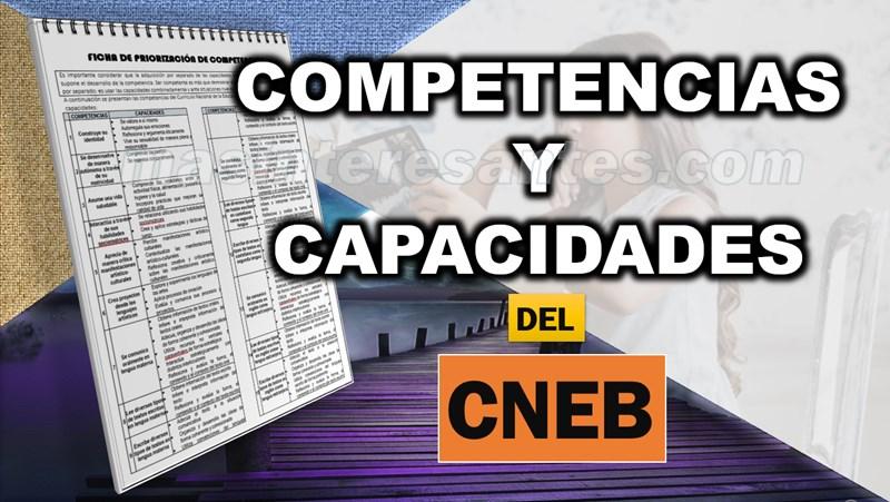 Las 31 competencias del CNEB y sus respectivas capacidades | Más  interesantes