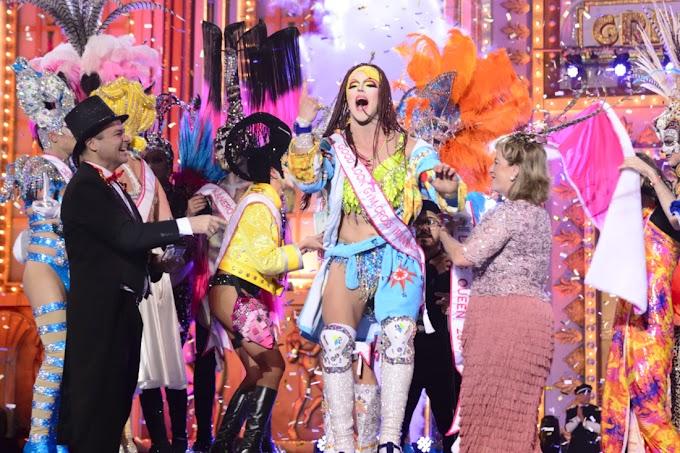 Drag Grimassira Maeva la Drag Queen 2016 del Carnaval de Las Palmas