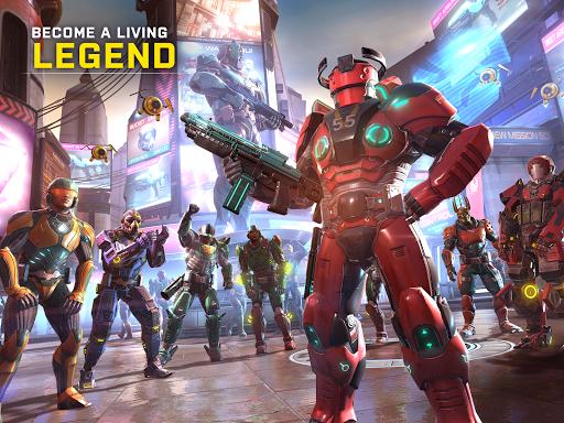 تحميل لعبة Shadowgun Legends 0.8.4 مهكرة للاندرويد اخر اصدار