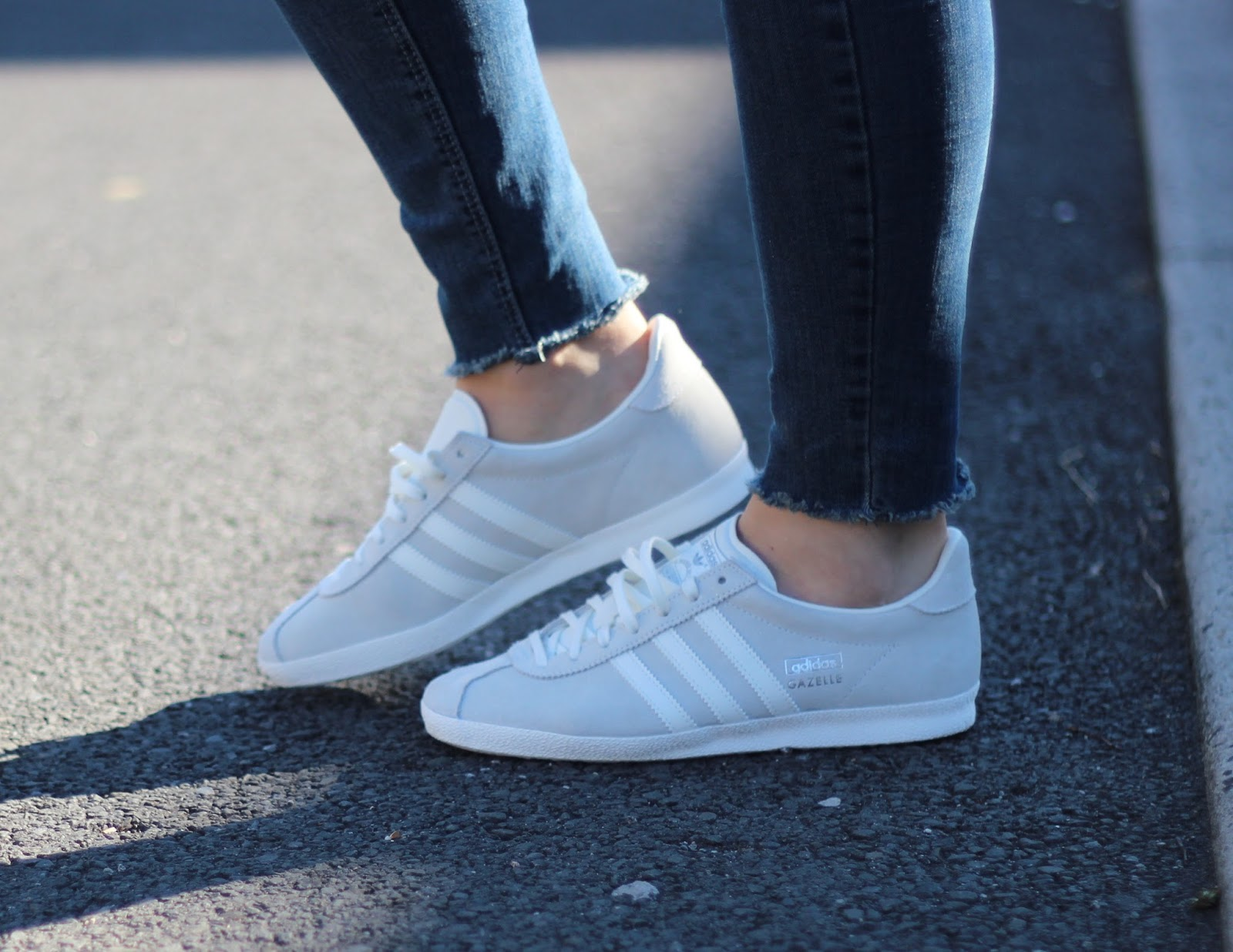 Adidas Gazelle (Green/White/Gold) Rock City Kicks