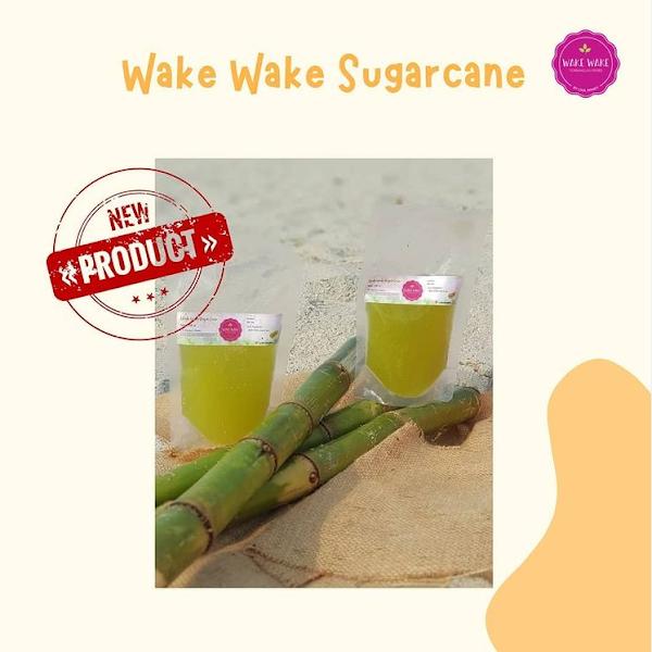 Wake Wake Sugarcrane, Minuman Segar dan Sehat dengan Pemanis Tebu Alami