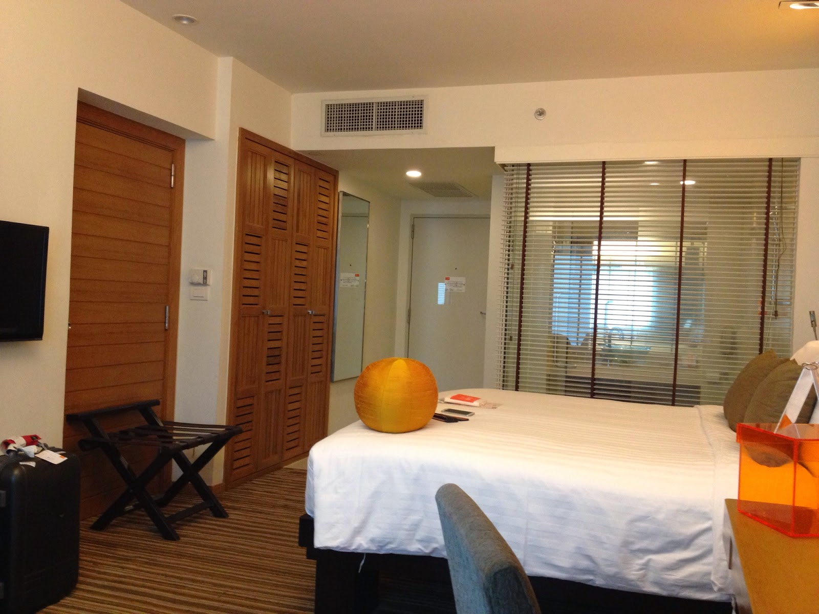 Chiang Mai - Our room at Dusit D2