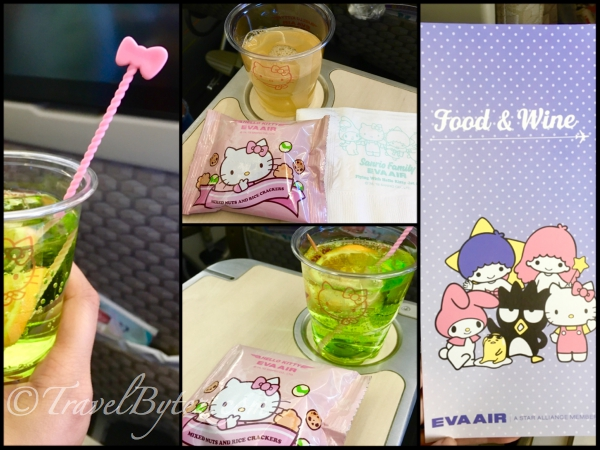 Eva Air Hello Kitty Themed Flight Food