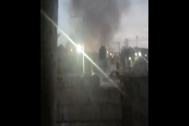 Video: Pueblo queda en llamas tras enfrentamiento entre El Cártel de Sinaloa vs El CJNG