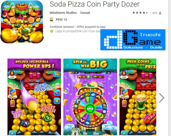 Trucchi Soda Dozer: Coin Pusher Mod Apk Android v7.0.1