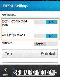 cara mengatasi notifikasi bbm yang hilang