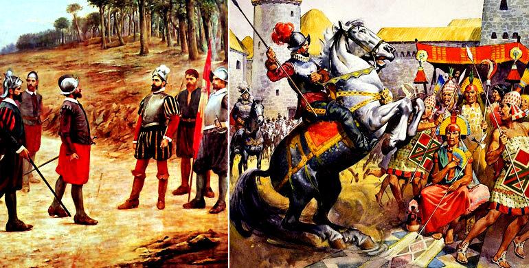 """Es cierto que 200 españoles no podrían haber conquistado el imperio incaico?"""""""