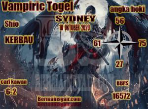 Kode syair Sydney Minggu 18 Oktober 2020 306