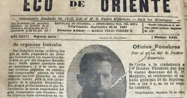 Crean en Villavicencio la condecoración Mauricio Dières Monplaisir para periodistas