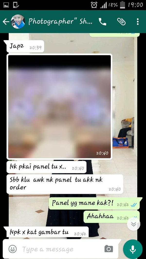 Bayar Pakej Pelamin RM3,900 Tapi Inilah Hasilnya Indah Khabar Dari Rupa!