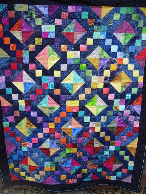Jewel Box Quilt - Tutorial