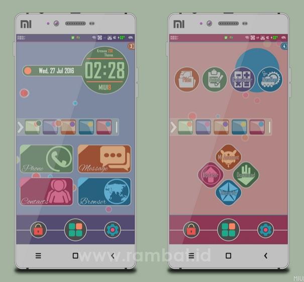 Tema Xiaomi Keren MIUI 8 - Krowax