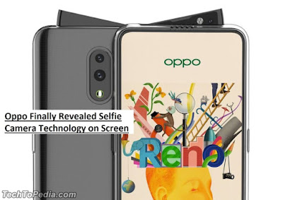 Oppo Finally Revealed Selfie Camera Technology on Screen