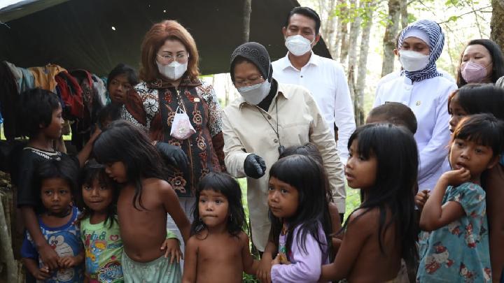 Kecewa Janji Tak Juga Dipenuhi, Suku Anak Dalam Jambi: Mensos Risma Cuma Pencitraan!