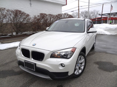 2014 BMW X1 XDRIVE28I Mineral White Metallic For Sale Foreign Motorcars Inc