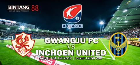 Prediksi Gwangju FC vs Incheon United 01 Juli 2017