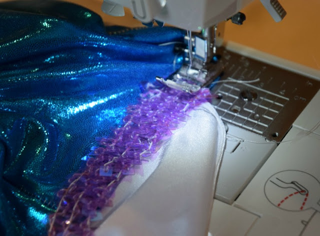 Mermaid Tail Costume DIY Sewing Tutorial