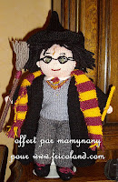 Knitting Pattern provided by The Leaky Cauldron through a link on Mamynany's Ravelry page.