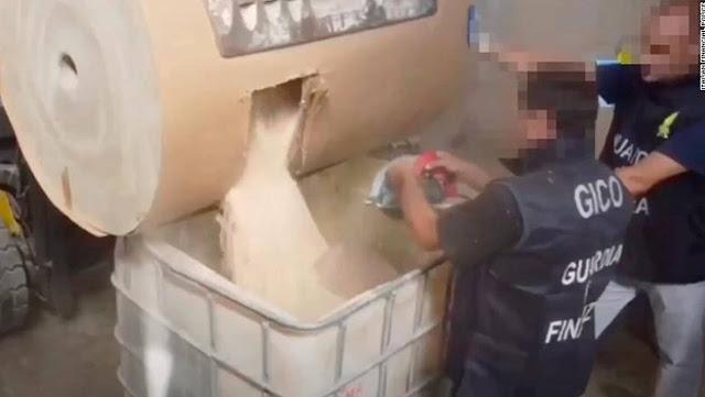 Η ιταλική αστυνομία κατέσχεσε φορτίο μαμούθ με «χάπια τζιχαντιστών»