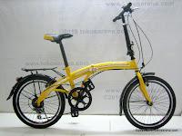 Sepeda LIPAT GORIN 7 Speed Shimano 20 Inci